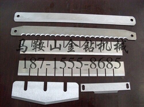 锯齿长刀片